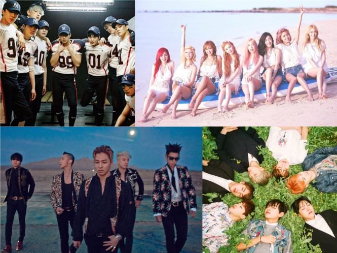EXO-Girls-Generation-BIGBANG-BTS