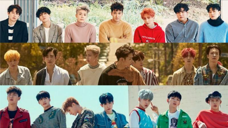 Super-Junior-GOT7-MONSTA-X