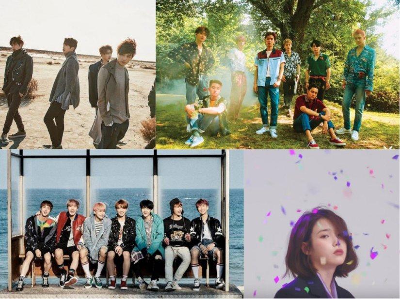 EXO-nuest-w-Taeyeon-IU-Ailee-akdong-musician-yoon-jong-shin-bts-winner-got7-JJ-Project-crush-red-velvet-twice-heize-bolbbalgan4-highlight-wanna-one