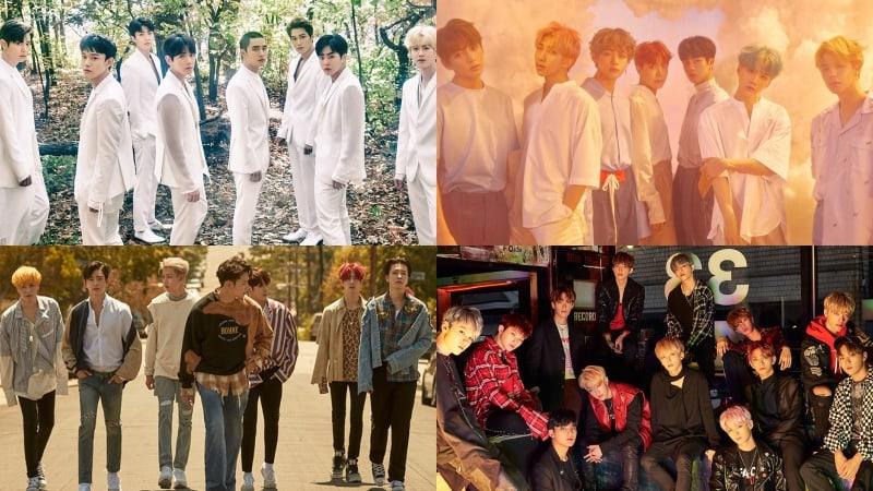 EXO-BTS-GOT7-SEVENTEEN